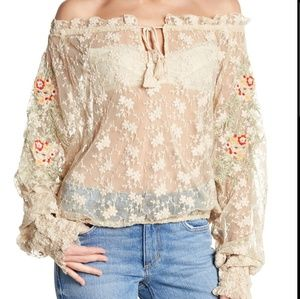 Free People Jubilee Blouse